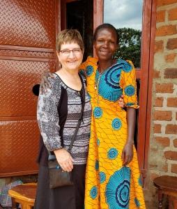 Encouraging young moms, Uganda 2019